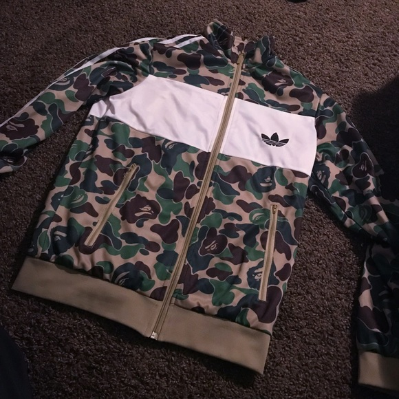 e6ece14503c9e Bape Jackets & Coats | X Adidas Firebird Jacket | Poshmark
